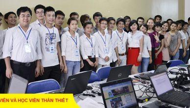 Lớp học photoshop tại quạn Tân Phú