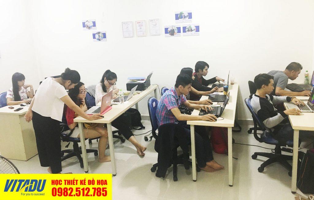 Học Illustrator tại Tân Bình, học như làm thực tế
