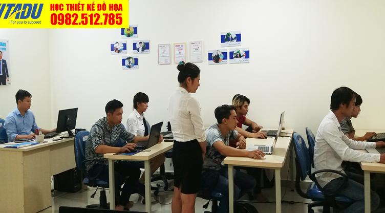 Học Illustrator tại phường 6 Tân Bình