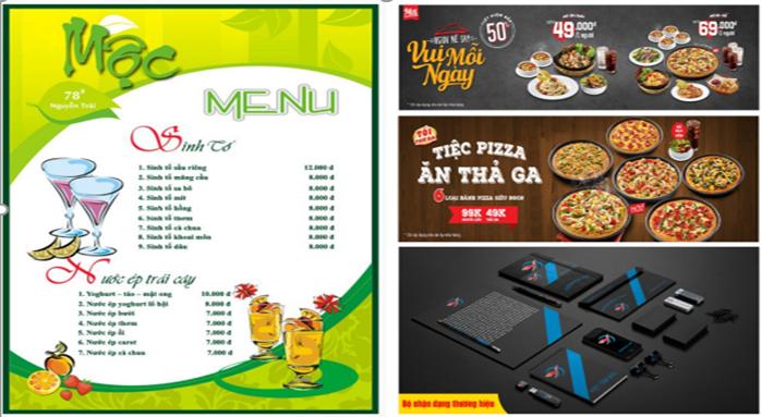 Học illustrator ở Võ Văn Kiệt quận 6. Thiết kế logo, sản phẩm, lịch, thiệp, menu,...