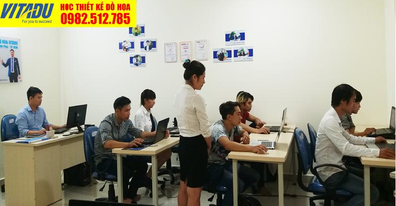 Lớp học Photoshop tại phường 2 Tân Bình TPHCM