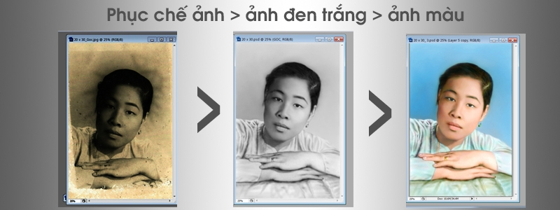 Học Photoshop ở Tân Bình. Cắt ghép ảnh, chỉnh sửa ảnh, phục chế ảnh chuyên nghiệp