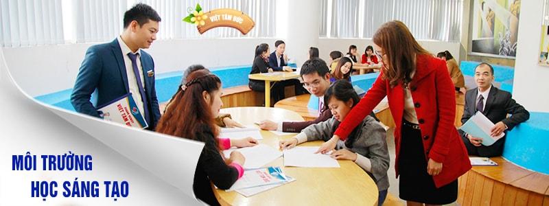 Môi trường học tập Photoshop tại Việt Tâm Đức