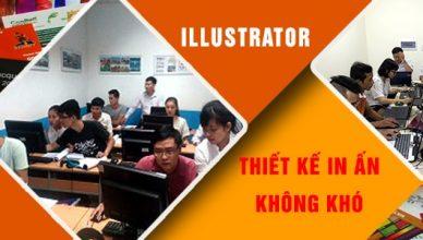 Lóp học Illustrator tại quận Phú Nhuận TPHCM