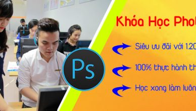 Lớp học photoshop tại TPHCM