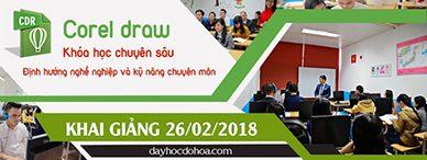 Lớp học CorelDraw tại phường 3 quận Phú Nhuận TPHCM