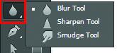 công cụ blur trong Photoshop CS6