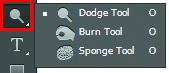 Công cụ Dodge Tool trong Photoshop CS6