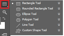 Công cụ vẽ hình vector trong Photoshop
