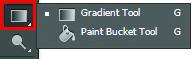 Công cụ Gradient tool của Photoshop CS6