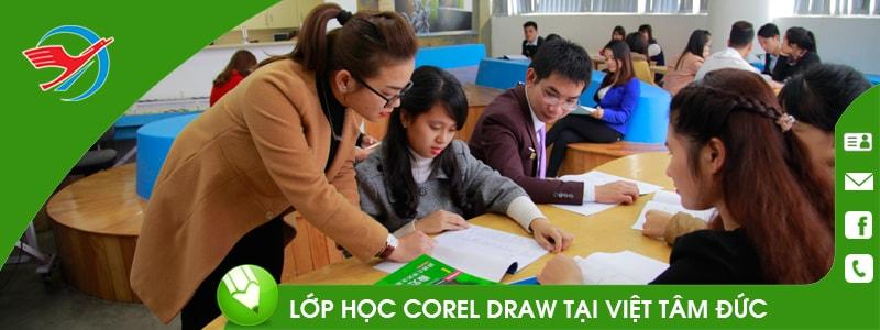 Khóa học thiết kế đồ họa Corel Draw quận 1 TPHCM VTĐ