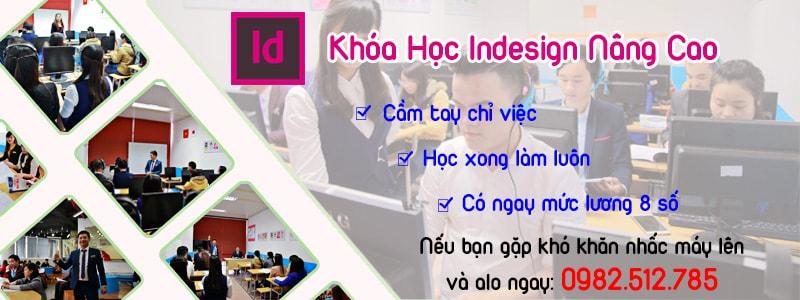 Học indesign tại phường Tân Quý, quận Tân Phú tphcm