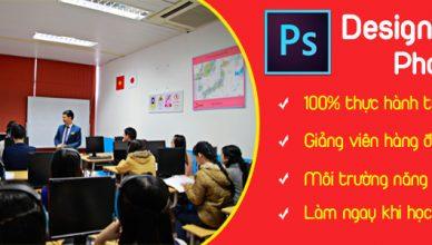 lớp học photoshop tại quận Tân Bình, TPHCM