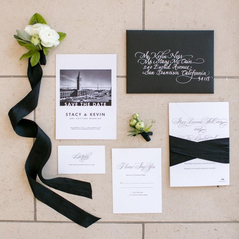 Thiệp cưới do học viên thiết kế tại khóa học