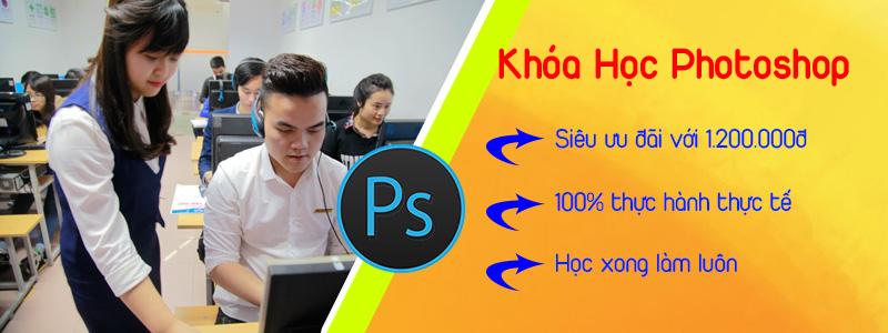 Học photoshop tại phường Bình Trị Đông, quận Bình Tân tphcm
