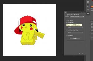 Hướng dẫn sử dụng 3D trong Photoshop Cs6