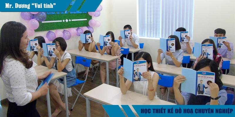 Lớp học thiết kế đồ họa ngắn hạn tại quận Gò Vấp TPHCM