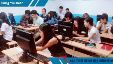 Hình ảnh lớp học tại Trung tâm Việt Tâm Đức
