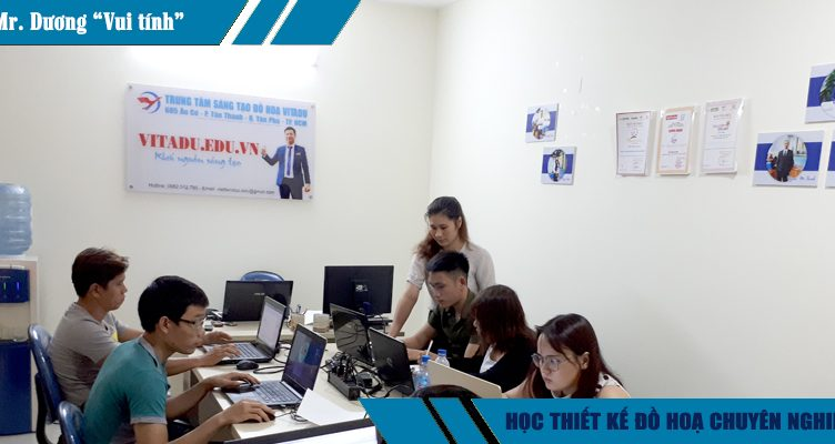 Khóa học thiết kế đồ họa ngắn hạn tại quận 1 TPHCM