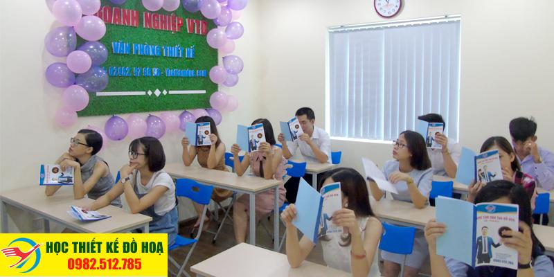 Hình ảnh lớp học tại Vitadu