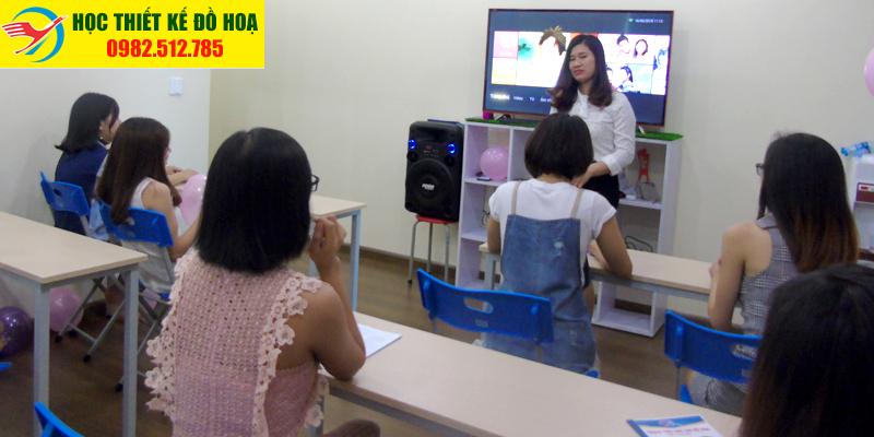 Hình ảnh về khóa học thiết kế đồ họa tại quận 1 TPHCM đường Đa Kao