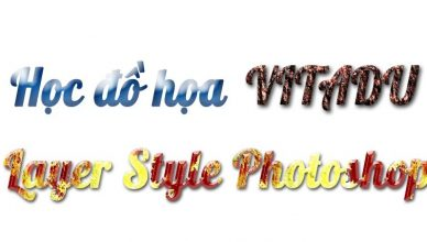 Layer style trong photoshop
